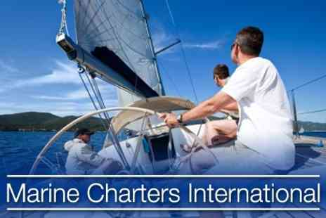 Marine Charters International - Sail Luxury Yacht The Novus Arca with a Crew of 12 from Southampton to Cowes and Back - Save 75%