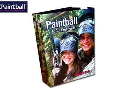 UKPaintball - Paintball Gift Box for 5 in70 Locations