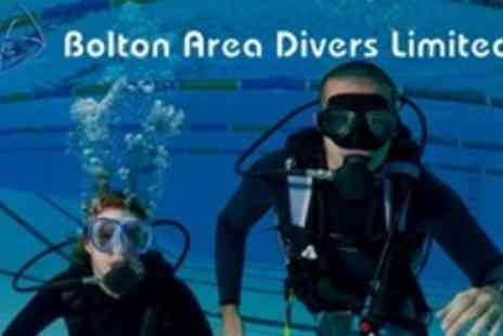 Bolton Area Divers - PADI Open Water Referral Course - Save 60%
