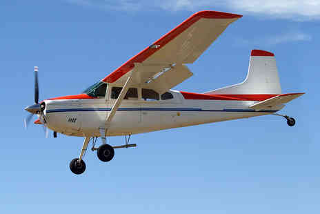 Air Experiences - Light Aircraft Flying Lesson for One - Save 50%