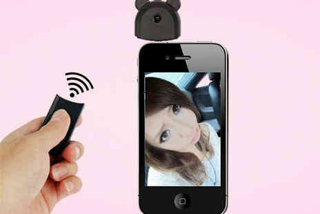 Qualite - Wireless Selfie Remote for iPhone - Save 43%