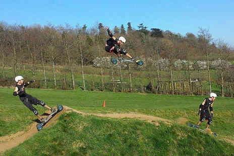 Ride the Hill - Hour Long Beginners Mountainboarding Lesson with a Two Hour Ride for One  - Save 54%