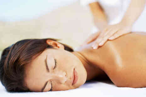 Beauty Box Bristol - Back, Neck, and Shoulder Massage with Classic Manicure - Save 62%