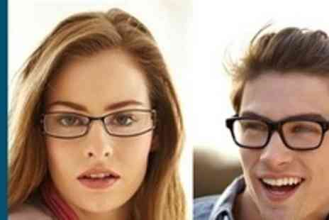 Glasses Direct - One or Two Pairs of Designer Prescription Glasses - Save 61%