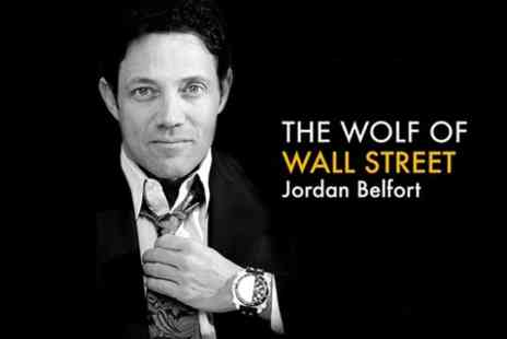 Success Resources - Wolf of Wall Street Ticket to see Jordan Belfort Live  - Save 30%