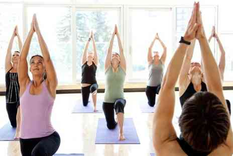 Training Temple - Five  Sessions of Hot Yoga - Save 71%