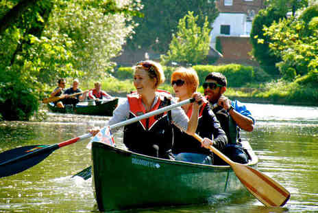 Back of Beyond Adventures - Thames Canoe Tour for Two People - Save 55%