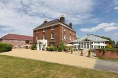Hadley Park House Hotel - One night Shropshire stay for 2 with a two course dinner & breakfast - Save 51%