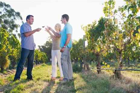 Carr Taylor - Award Winning Vineyard Tour, Lunch & Tastings for 2 - Save 63%