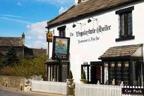 The Wensleydale Heifer - Five Course Dinner for 2  - Save 54%