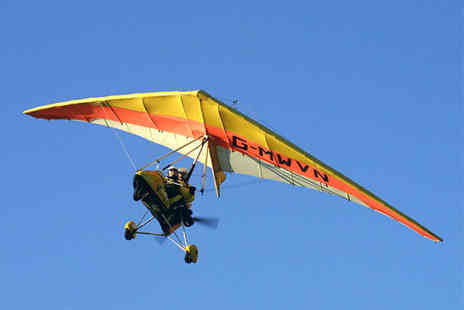 Microflights Flying School - 30 minute microlight flying experience  - Save 40%