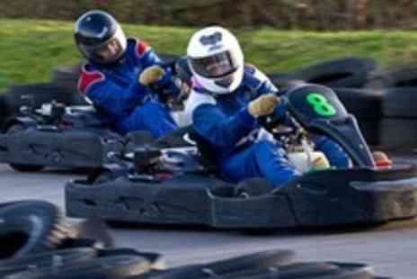 West Country Karting - 80 sprint laps of karting for 2 People - Save 75%