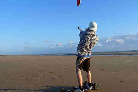 The Kitesurf Centre - Six Hour Landboarding and Kite Buggy Experience for One  - Save 61%