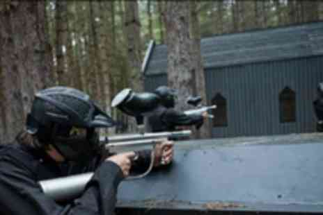 Delta Force Paintball - Full day of paintballing with 100 free paintballs - Save 83%