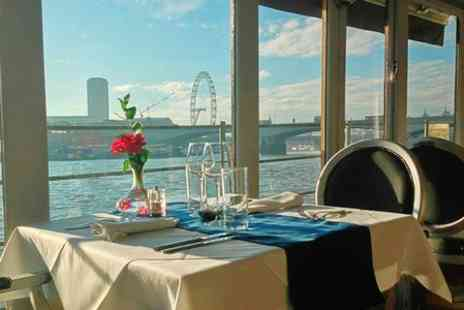 The Yacht London - Three Course Dinner For Two - Save 64%