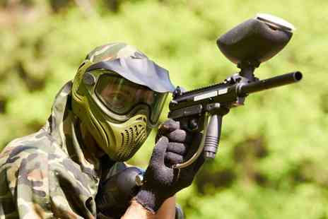 Mayhem South East - Paintballing for 5 people including lunch and 100 paintballs - Save 89%