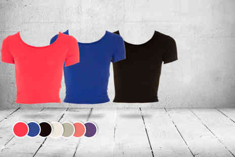 iKRUSH - Crop top in a choice of colours - Save 60%