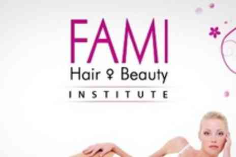 Fami Hair and Beauty Institute - Six Sessions of IPL Hair Removal on Up to Four Areas - Save 94%