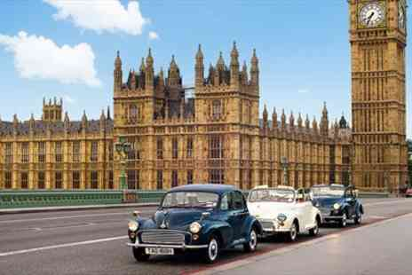 Classic City Tours - Tour of London in a Classic Car for up to 3 - Save 54%