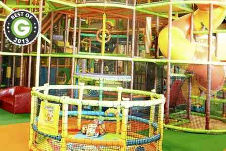 Gambado - Soft Play Centre Family Summer Membership - Save 50%
