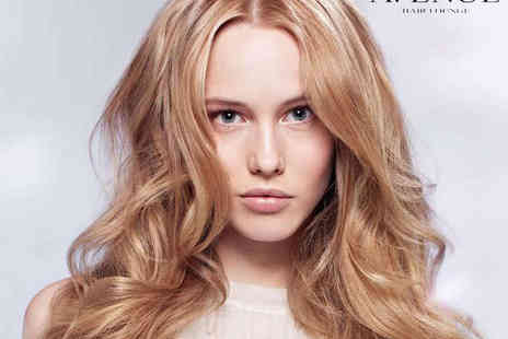 Avenue Hair Lounge - Haircut and Blow Dry  - Save 56%