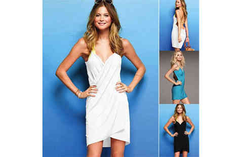 Flutterby Glam - Multi Style Beach Dress - Save 63%