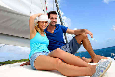 Escape Yachting - Half Day Sailing Experience for One with Lunch or Dinner and Bubbly - Save 50%