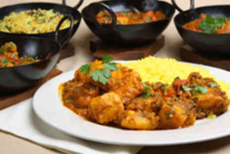 4500 Miles from Delhi - Lavish Lunchtime Indian Buffet for Two - Save 50%