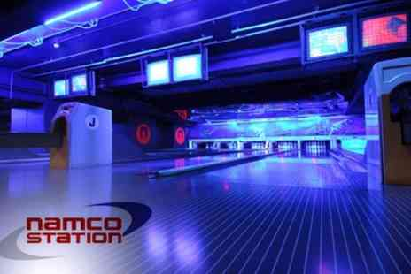 Namco Station - £14 for £50 Worth of Tokens to use on Bowling, Bumper Cars and Video Games For Up To Six People - Save 72%