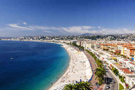 Tour Center - Two night break in Nice with three star accommodation & return flights - Save 37%