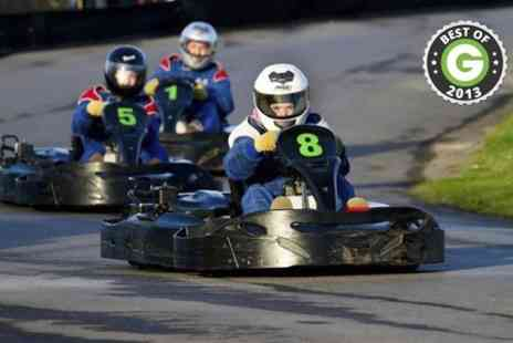 West country karting -  80 Laps For One  - Save 75%