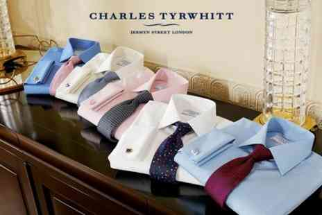Charles Tyrwhitt - Towards Shirts Suits and Casual Attire - Save 50%