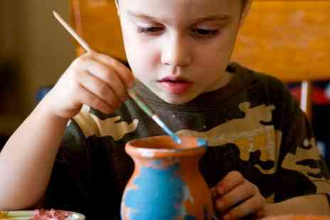 Creativity Crazy - Ceramic Painting Workshop For Adult and Child  - Save 53%