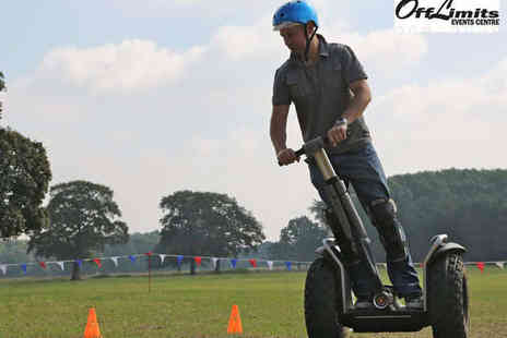 Off Limits - Segway Experience for Two  - Save 50%
