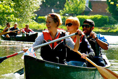 Back of Beyond Adventures - Thames canoe trip for 2 with Back and Beyond Adventures - Save 55%