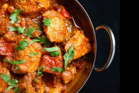 Bombay Spice - Starter and Main Each for Two - Save 51%