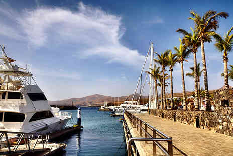 Tour Center - Seven night break in Lanzarote with three accommodation breakfast, waterpark entry & return flights - save up to 54%