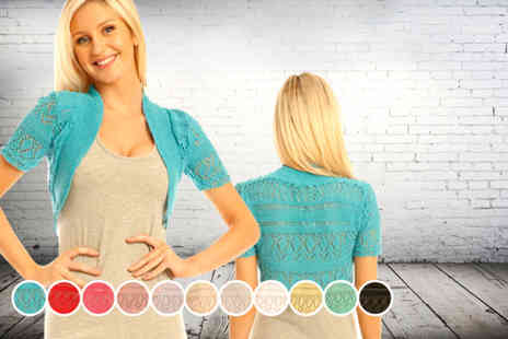 iKRUSH - Knitted shrug valid in a variety of colours  - Save 53%