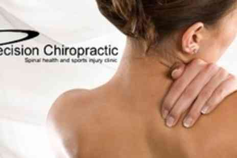 Precision Chiropractic - Chiropractic Consultation With Two Treatments and Review - Save 79%