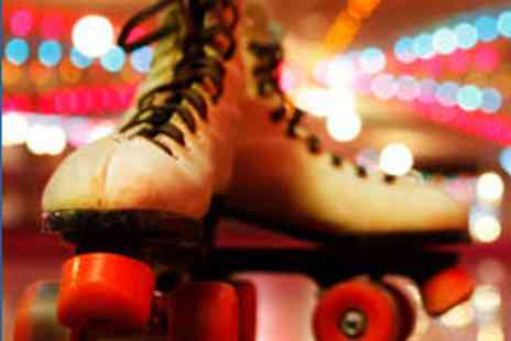 Fun Factory - One Hour Family Roller Skating Session for Four - Save 56%