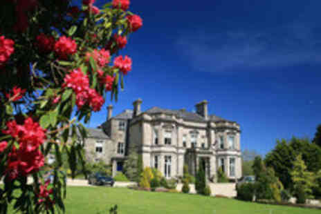 Tre Ysgawen Hall Country House - Country House Spa Hotel Break for Two  - Save 50%