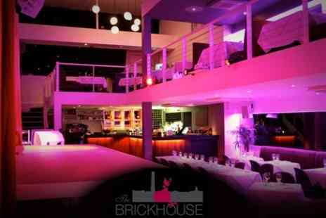 The Brickhouse - Five Course Meal For Two Plus Cabaret Entertainment for £39 - Save 57%