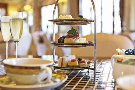 Halo Hotels - Sparkling Afternoon Tea For Two  - Save 55%