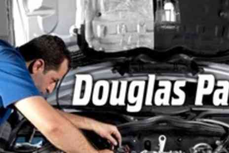 Douglas Paul Motor Group - Full 66 Point Car Service With Oil and Filter Change and Car Wash - Save 73%