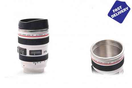 Trading Post Products - Camera Lens Thermal Flask - Save 50%