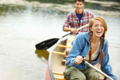 Back of Beyond Adventures - Scenic River Thames Canoe Tour for Two People - Save 55%
