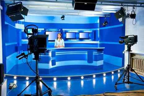 The TV Training Academy - One day TV presenting course choose from 7 locations  - Save 88%