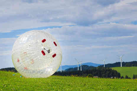 Leisure Matters -  Zorbing experience for one - save up to 65% - Save 65%