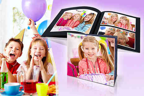 Create Your Own Photo Book - Personalised Photo Book - Save 83%