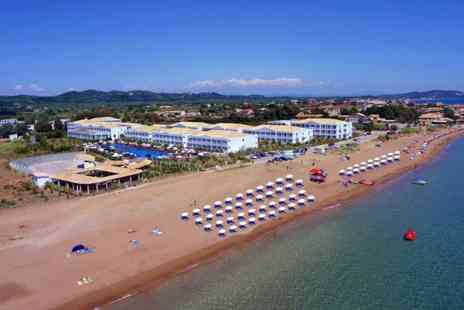 Blue sea Holidays - Corfu 4 star Aquis Sandy Beach Resort 7 nights stay all inclusive  Including Flights - Save 53%
